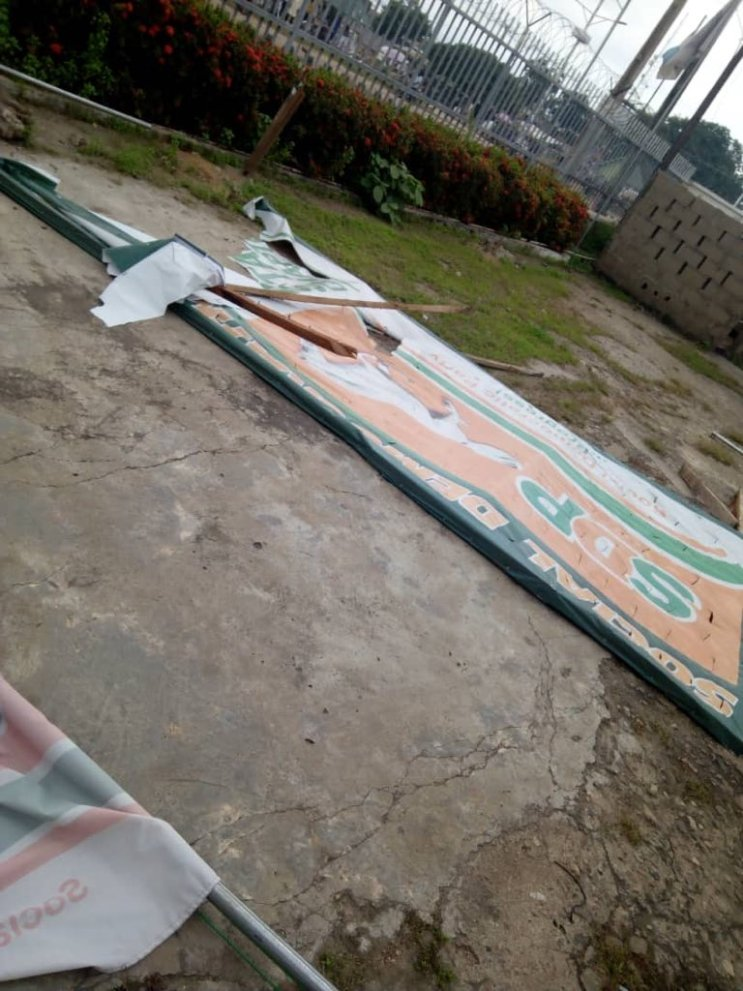 Kogi Guber: SDP State Secretariat Attacked By Political Thugs