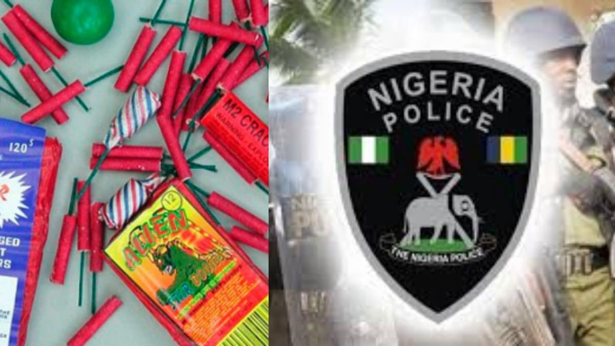 "Police Ban The Use Of Fireworks, ""Banger"" In Ondo"