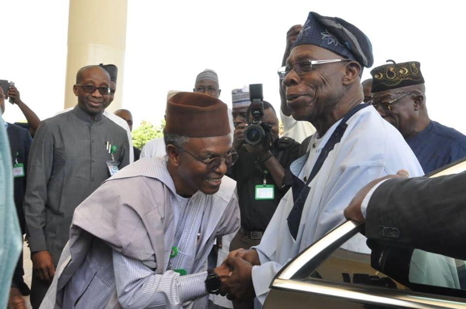 Obasanjo Hails Gov. El Rufai'span Nigeria Character