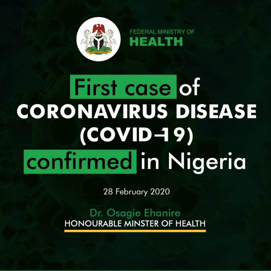 Lagos State Government Or Coronavirus Disease Covid