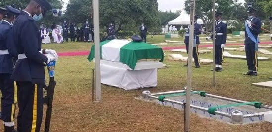 CD0631F8 3088 4AE2 BA48 434495A72C0D - Tolulope Arotile, Nigeria's first feminine fighter pilot buried in Abuja