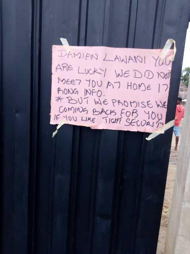 DSC 01 - Gunmen assault residence of Edo Commissioner for Youths, Lawani, promise to return [PHOTOS]