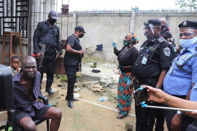 OHAFIA-TV News | Police exhumes four dead bodies from septic tank, arrests suspect in Rivers