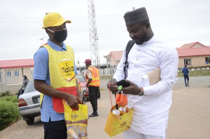 EID 4 - Malta Guinness excites travellers during Sallah