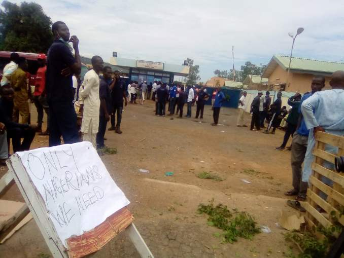 IMG 20200817 141319 2 - Atiku's beverage company workers protest alleged maltreatment