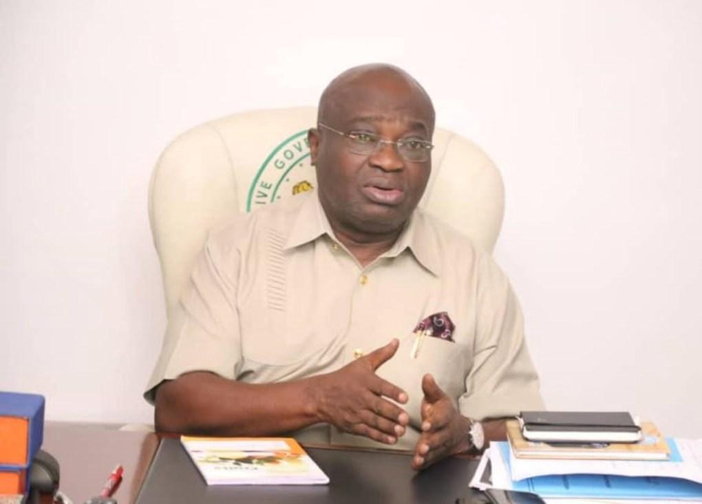 Ndubuisi Kanu: Gov Ikpeazu saddened over death of ex-Lagos Military Administrator