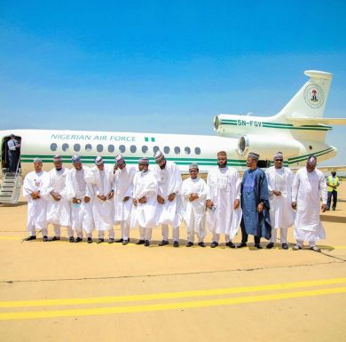Buhari under fire for allegedly authorizing presidential jet for aide's wedding