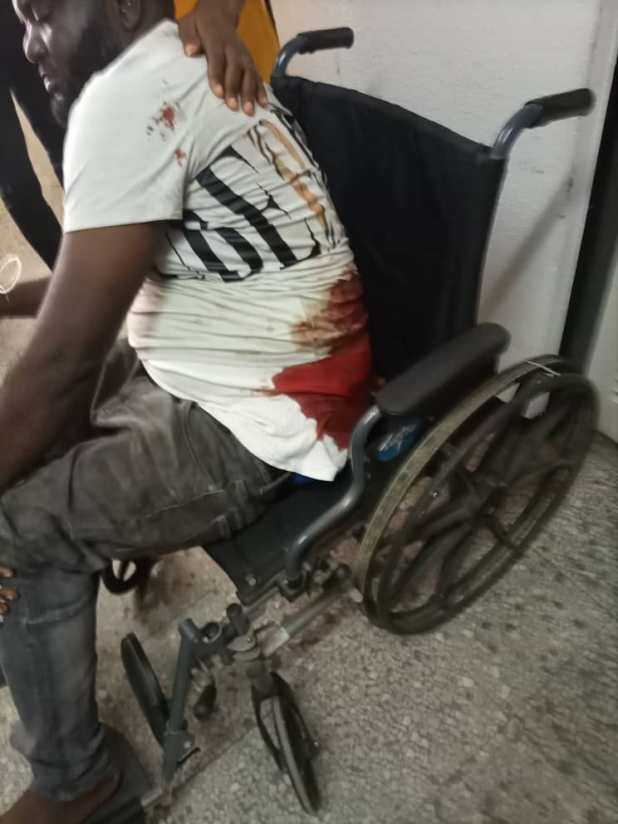IMG 20201012 WA0053 - End SARS: Police inspector killed, 2 critically injured as protest protests turn bloody in Lagos