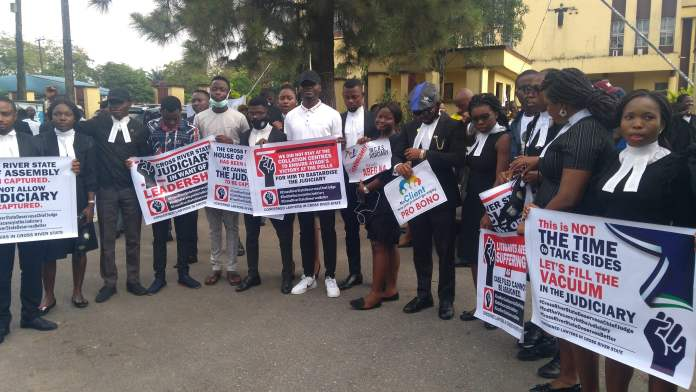 Lawyers Sets  To Boycott Swearing In Of Cross River Acting Chief Judge, Insist On Street Protest