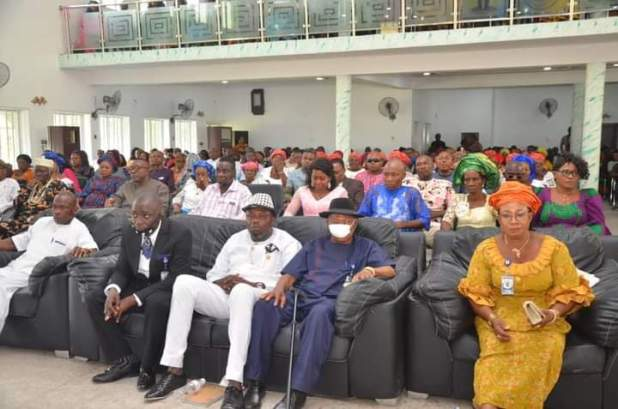 FB IMG 1605819155142 - Abia: Gov Ikpeazu Inaugurates ASUBEB Chairman, board members, others