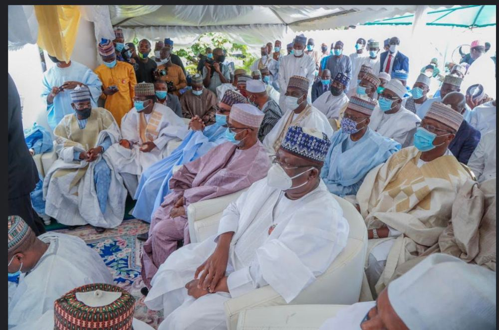 wedding3 - PHOTONEWS: Senate President, Lawan, Sanusi, Governors, others attend El-Rufai son's wedding in Abuja