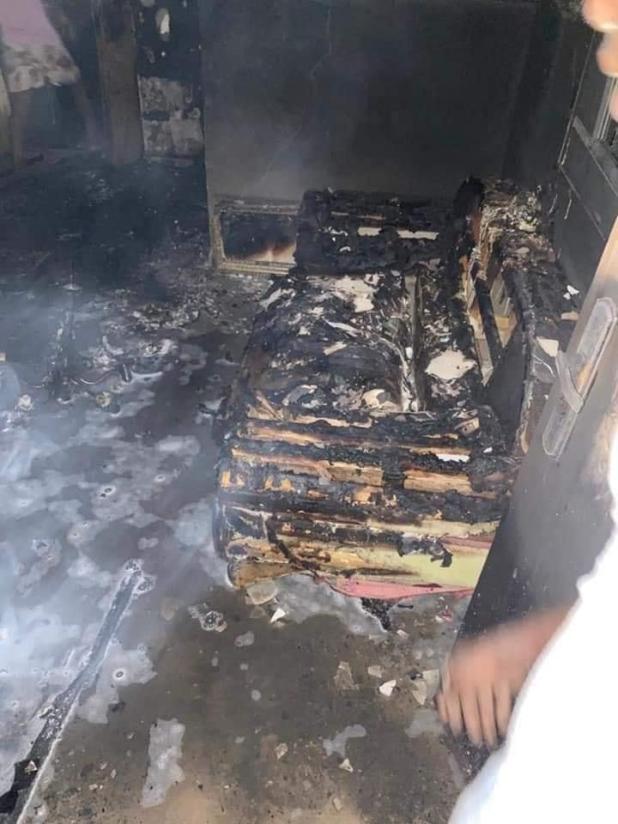 IMG 20210126 WA0001 - BREAKING: Sunday Igboho's house in Ibadan set ablaze [Photos, Video]