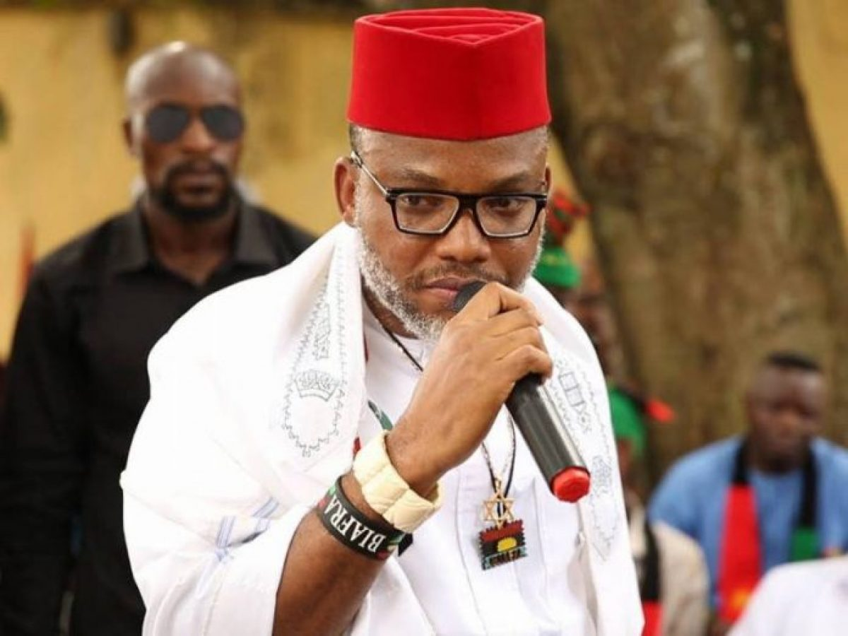 Nnamdi Kanu releases names of 62 prominent Nigerians 'responsible for Nigeria's current woes'