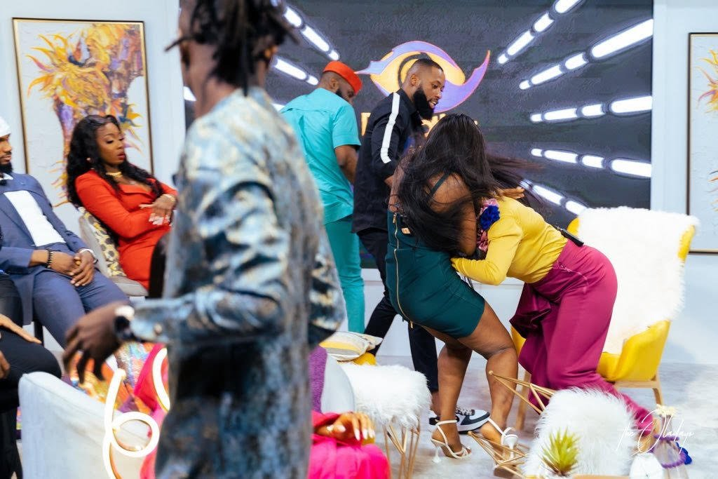 BBNaija reunion: Kaisha, Lucy engage in physical fight [VIDEO]