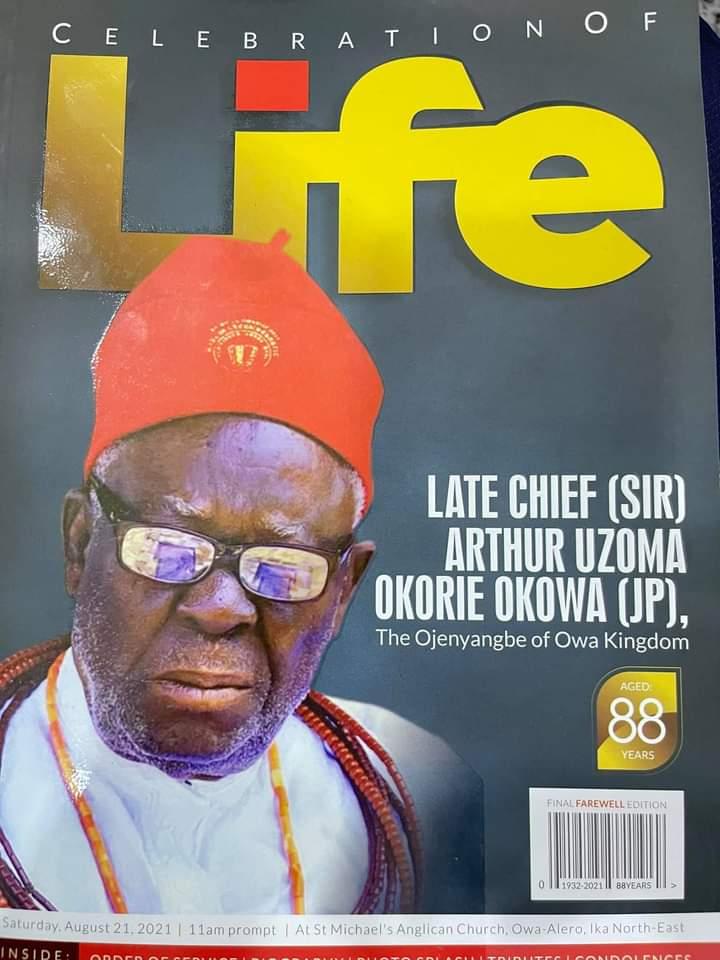Ortom, Makinde in Delta for burial of Gov Okowa's father [PHOTO]