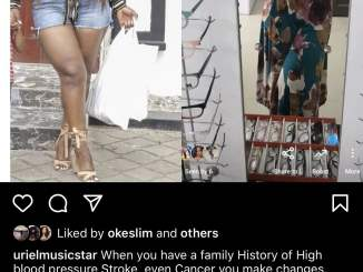 I had ovarian cyst – Uriel gives reason for huge weight loss