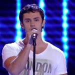 "Juan Pablo Sauvalle Sings ""Say something"" on The Voice Chile 2015 (June 23, 2015 Episode)"