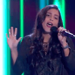 "Magdalena de Rosas Sings ""Just The Way You Are"" on The Voice Chile 2015 (June 23, 2015 Episode)"