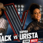Lane Mack vs Sophia Urista on The Voice 2016 Season 11 Battle Rounds (VIDEO)