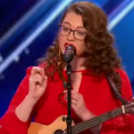 "Mandy Harvey Sings an Original Song ""Try"" on America's Got Talent 2017"