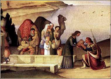 Image result for rebekah at the well