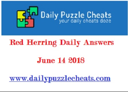 June 14 2018 Red Herring Answers