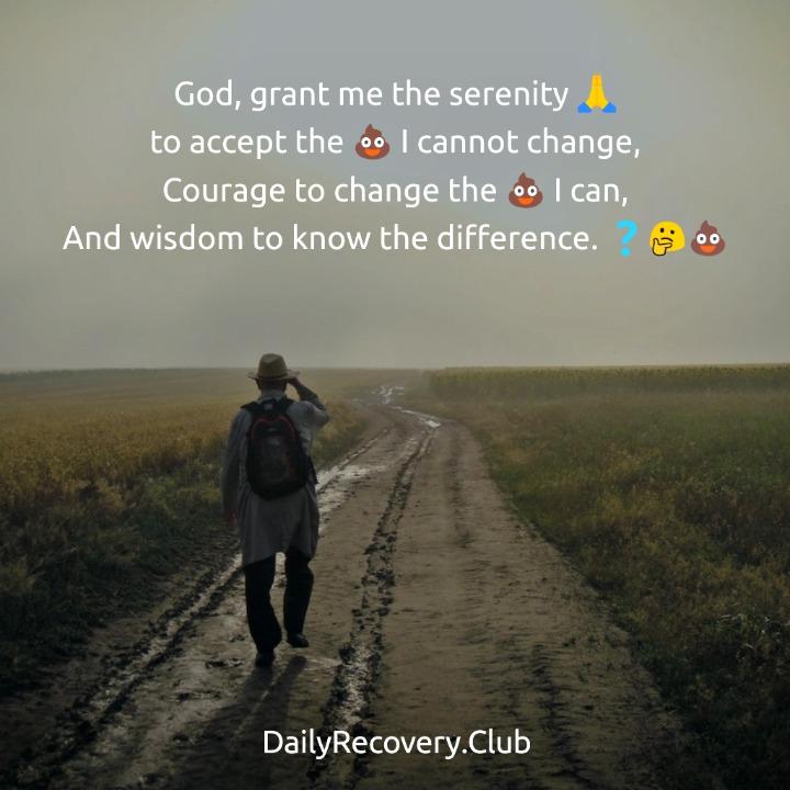 Emoji Serenity Prayer