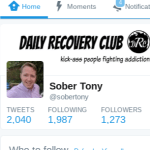 Day 114 Sober: How I Found Sobriety on Twitter
