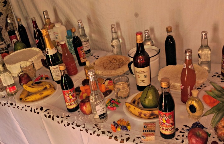 Food and Alcohol Table