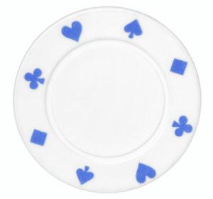 White Sobriety Poker Chip