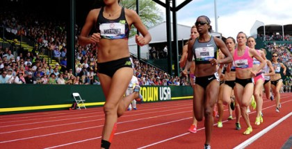 Brenda Martinez at the 2012 Trials
