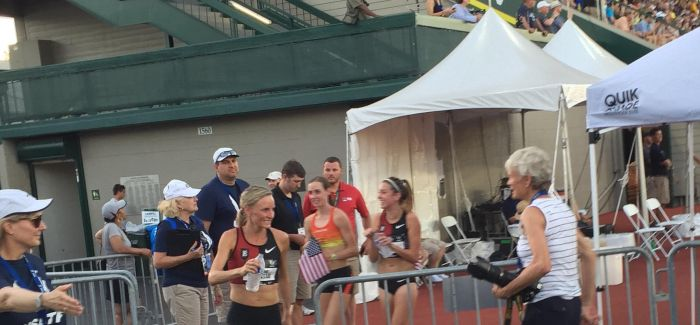 Clearing the air at Day 1 of USATF Outdoors