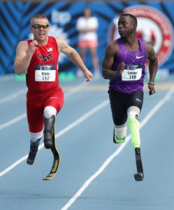 Digby at the Paralympic Trials