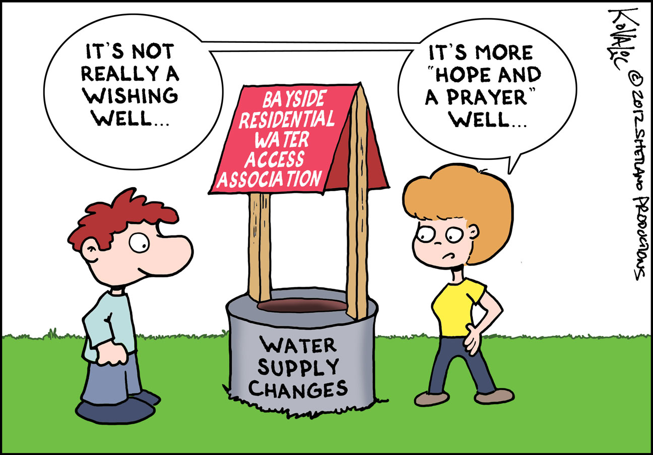 Editorial Cartoon Water Co Op Mulls Costly Conversion