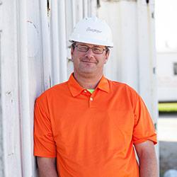 Brad Caspari, Hunzinger Construction