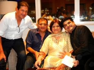 Director Trio of Vivek Kumar (second from left), Sachet Kumar (Extreme left) and Puneet Kumar (Extreme right)