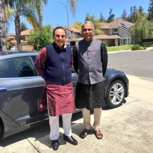 Left Indian MP Subramanian Swamy and Right Sree Iyer