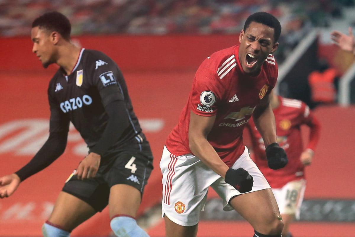 Manchester United vs Aston Villa