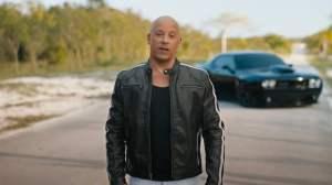 Vin Diesel Celebrates F9