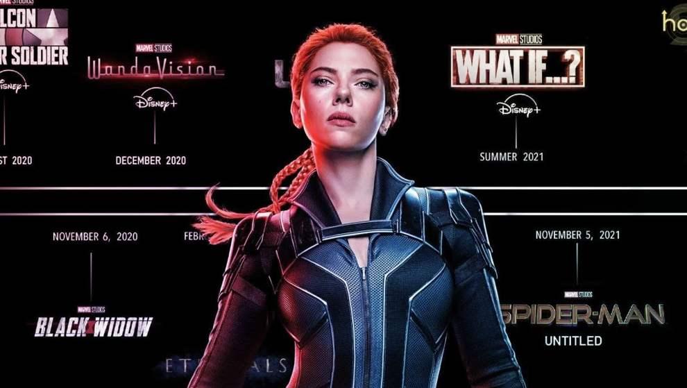 MCU Phase 4 Black Widow