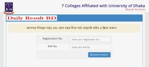 DU 7 College Degree 2nd Year Result 2019