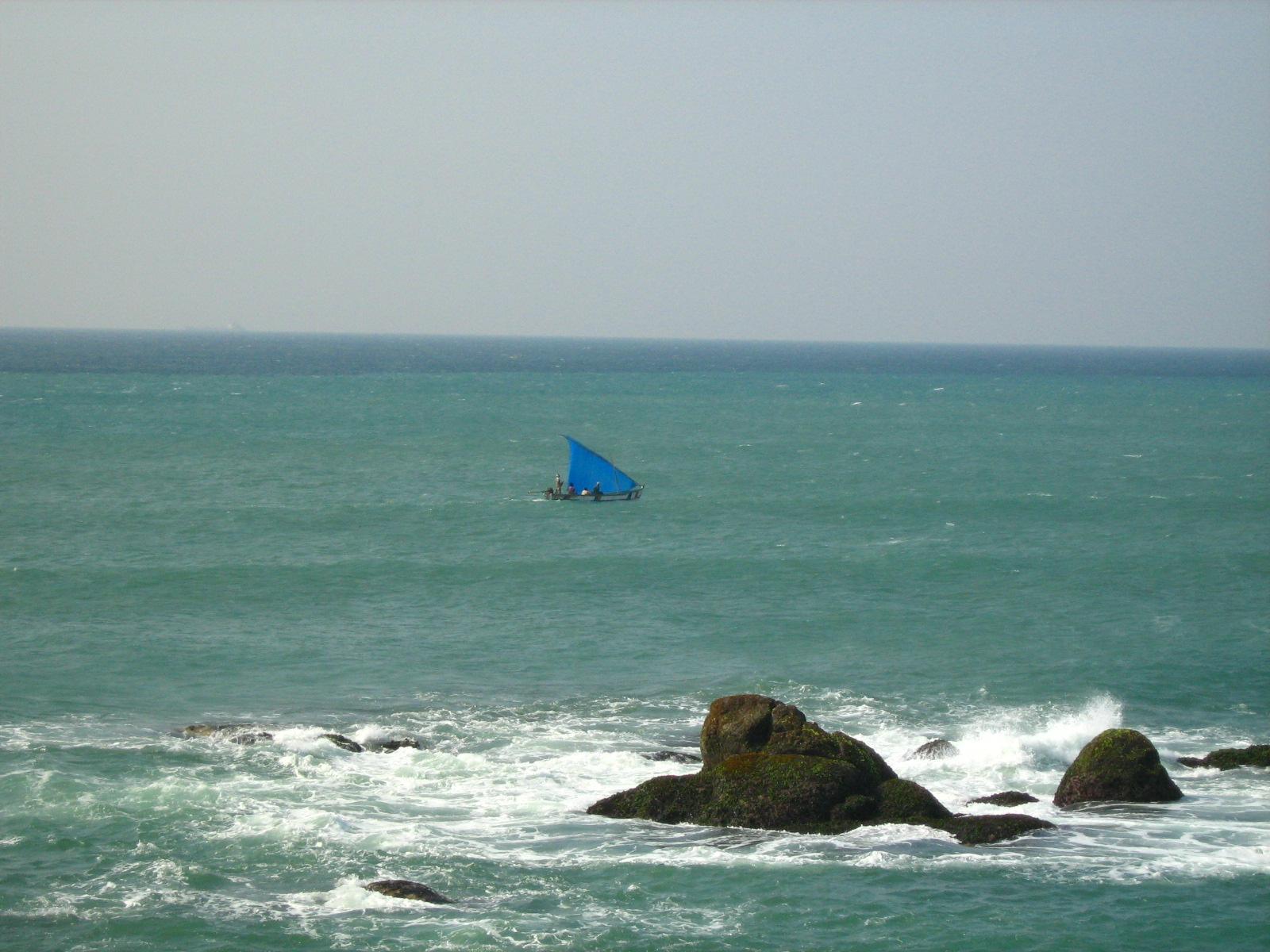 The sea at Kanyakumari