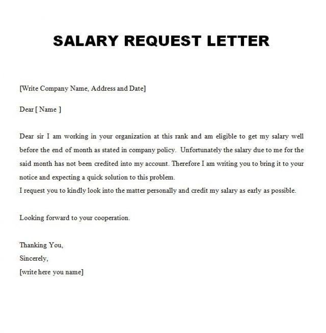 Letter Employee Example Justification