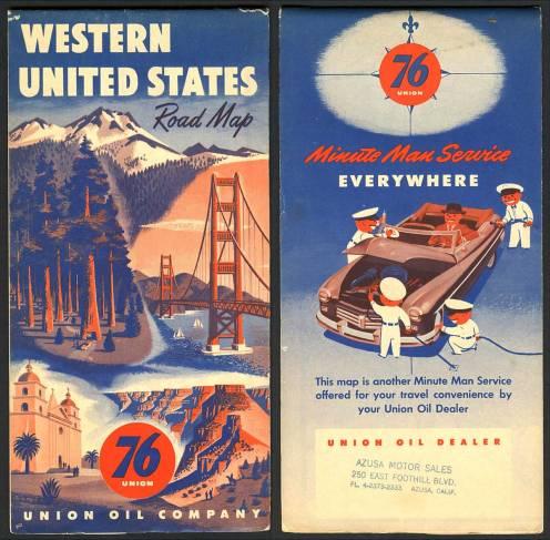 Paper maps vintage maps