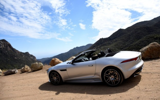 Convertible Jaguar