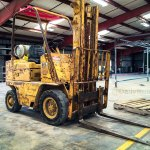 The Patina Caterpillar Forklift
