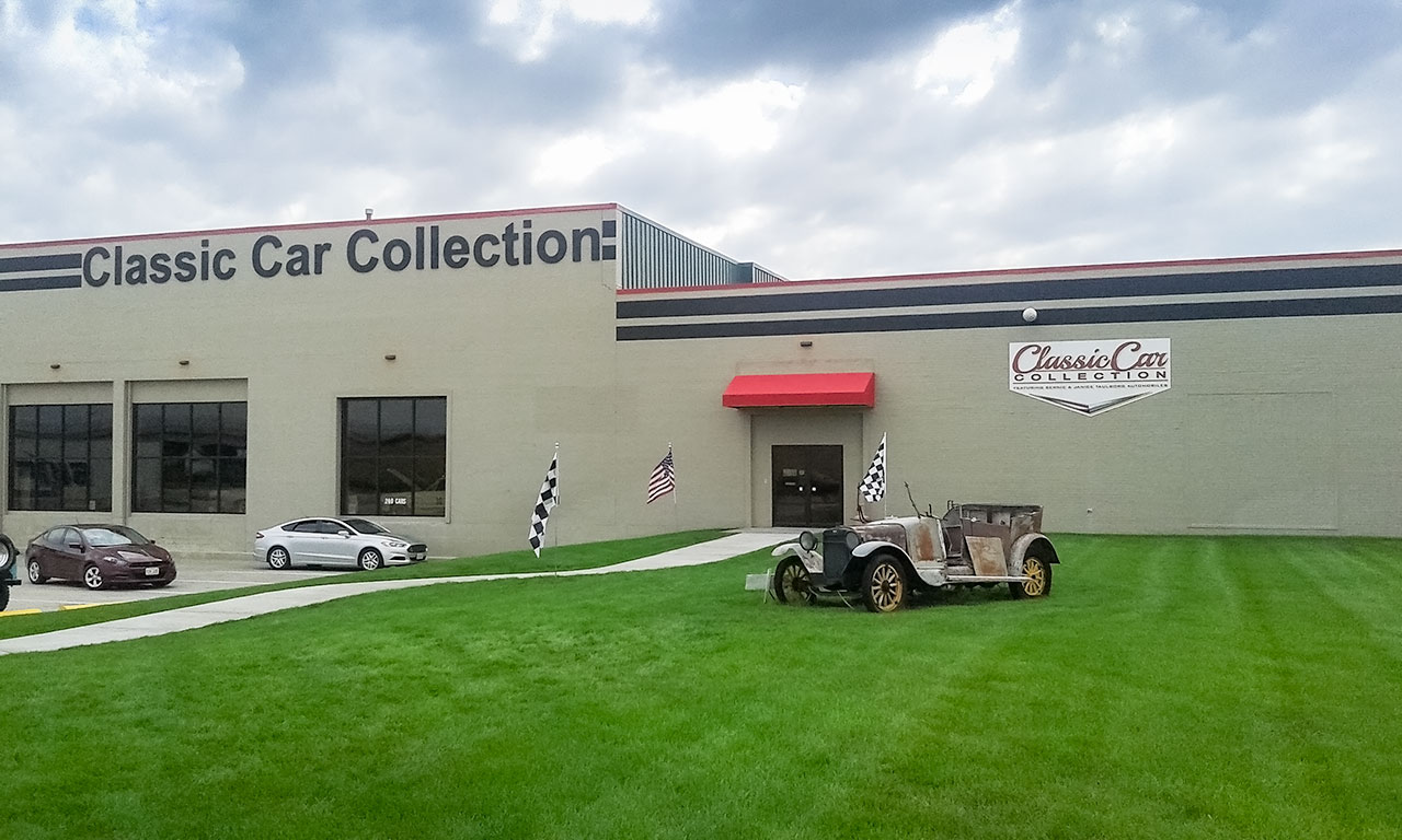 A Trip Down Memory Lane at the Classic Car Collection Museum