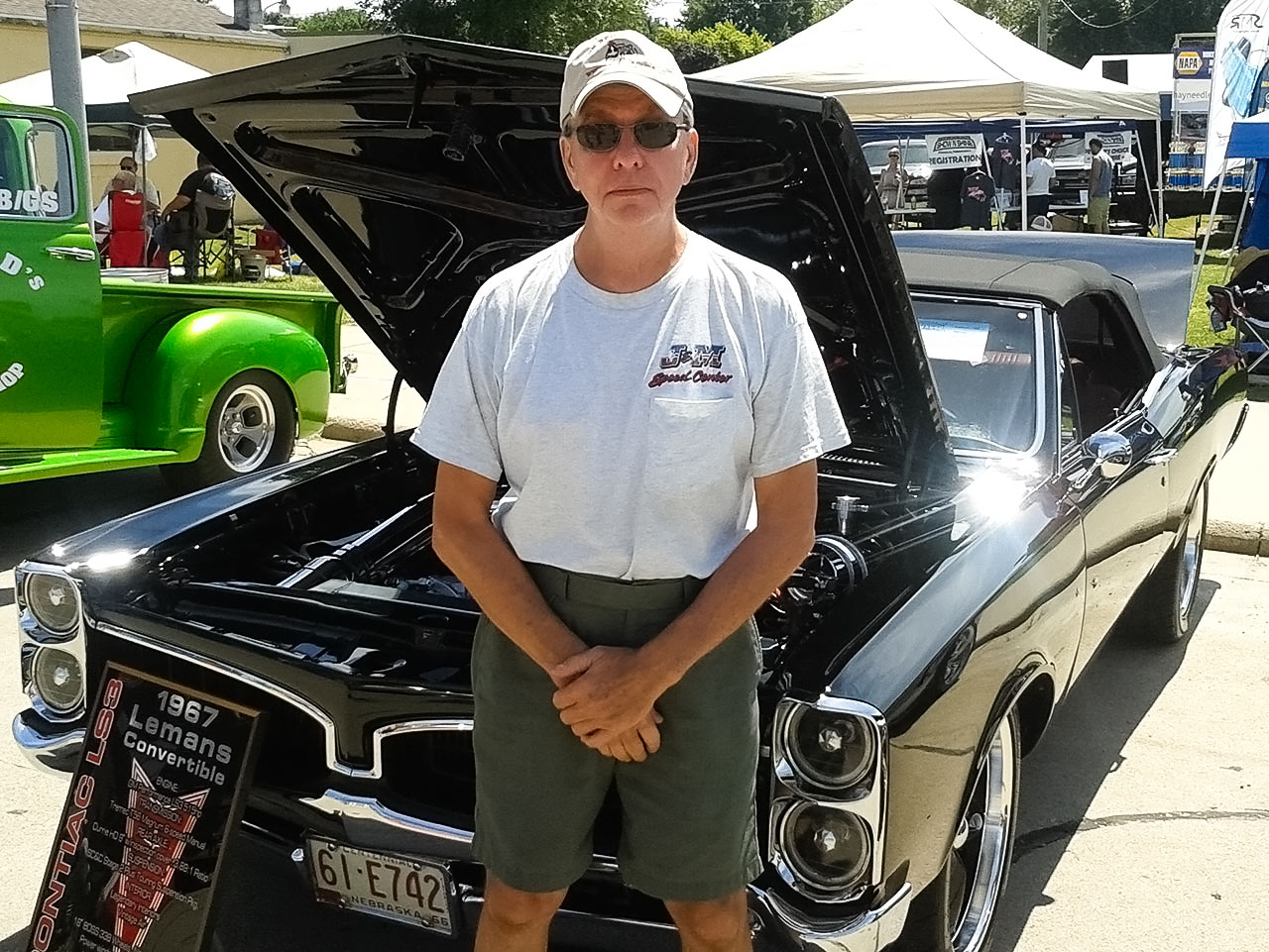 Barry Snodgrass' 1967 Pontiac Lemans Convertible