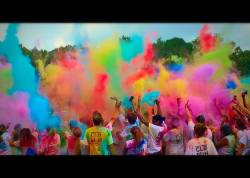 Color in the air with students in excitement!