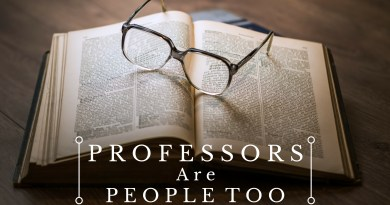 Professors Are People Too: Eric Jones